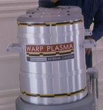 Warp plasma canister