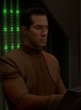 ...as a Bajoran security deputy