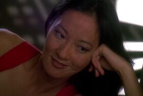Keiko O'Brien possessed by Pah-wraith