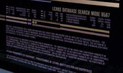 LCARS database search mode 9567 1