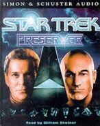 Preserver audiobook cover, UK cassette edition