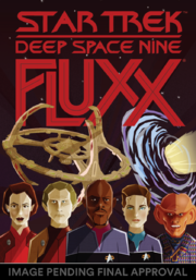 Star Trek Deep Space Nine Fluxx box art