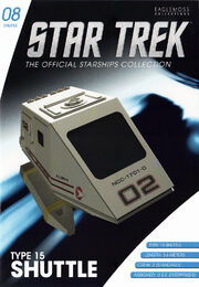 Star Trek Official Starships Collection Shuttle Issue 08