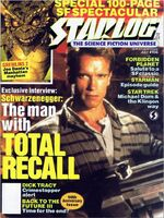Starlog issue 156 cover