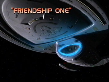 Friendship One title card
