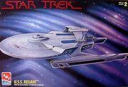 AMT Model kit 8766 USS Reliant 1995