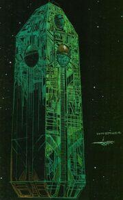 Borg cube design variant