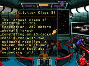 Constitution-Klasse Datenbankeintrag Star Trek Judgment Rites