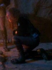 Hologramm eines Klingonen 2