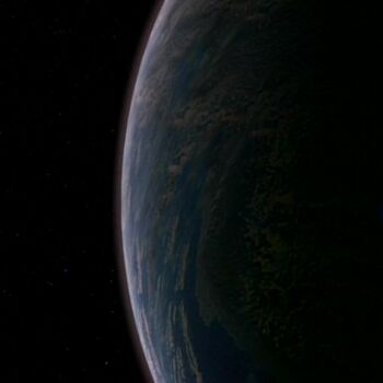 Ilari from orbit