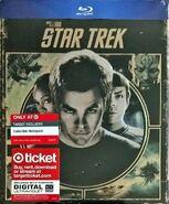 Star Trek 1 disc Blu-ray Region A Target Exclusive Embossed Metalpak cover