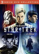 Star Trek 3 Movie Collection Region 2 cover