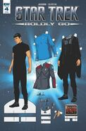 Star Trek Boldly Go, Issue 4 RI-B