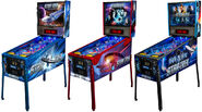 Star Trek Pinball Stern versions