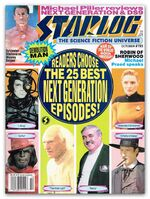 Starlog issue 195 cover