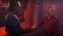 Worf and Picard