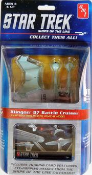 AMT 2016 Ships of the Line Klingon D7 Battle Cruiser