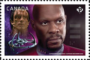 Canada Post 2017 Capt Sisko stamp