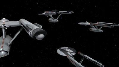 Constitution-Klasse Flotte