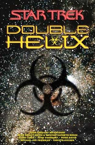 Cover of <i>Double Helix</i> omnibus edition