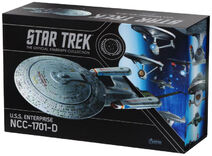 Eaglemoss USS Enterprise-D XL repack