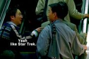 Hiro and Ando talk about Star Trek