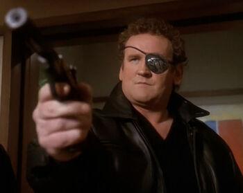 O'Brien as Falcon