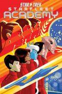 Starfleet Academy omnibus cover