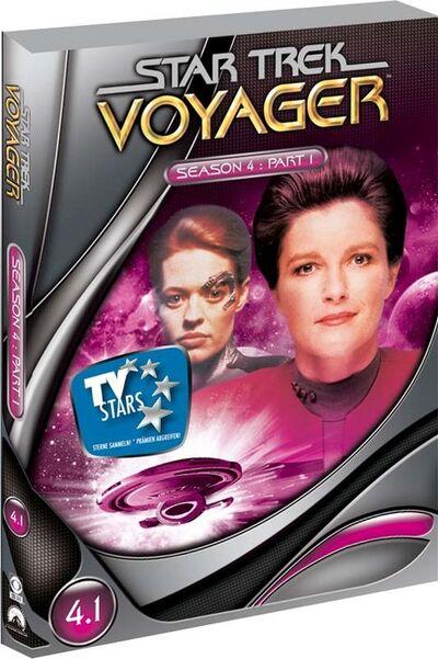 VOY Staffel 4-1 DVD
