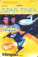 Dinky Toys No.804 Klingon Cruiser 1980