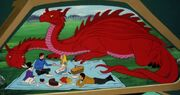 Picnic with alice and dragon