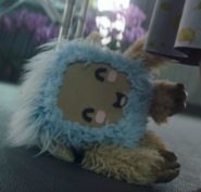 Soji's stuffed animal