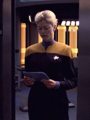 Sternenflottenoffizier Technik Sicherheit 2 USS Voyager 2376