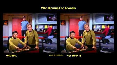 """TOS """"Pauvre Apollon"""" - comparaison des effets spéciaux"""