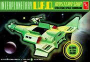 AMT Model kit AMT622 Interpanetary UFO Mystery Ship 2009