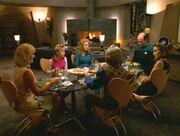 Abendessen auf dem Holodeck