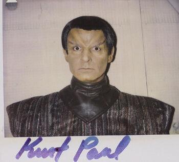 """Kurt Paul in TNG """"Birthright, Part II"""""""