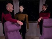 Picard riker data discuss malfunctions - evolution