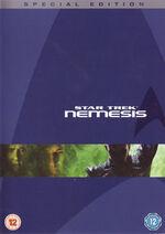 Star Trek Nemesis Special Edition DVD cover-Region 2
