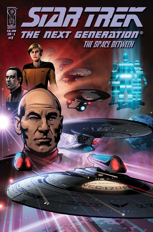 The Space Between Issue 1 Cover