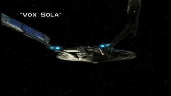 Vox Sola title card