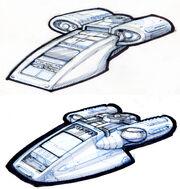 Chaffee shuttlepod sketch