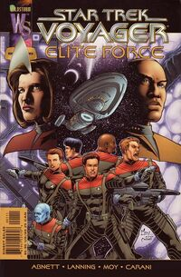 Elite Force comic cover