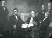 First Reading of the Emancipation Proclamation of President Lincoln