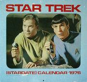 Star Trek Calendar 1976