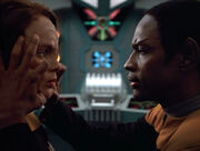 Torres and Tuvok mind meld