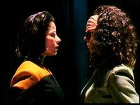 Belanna human-klingon, faces
