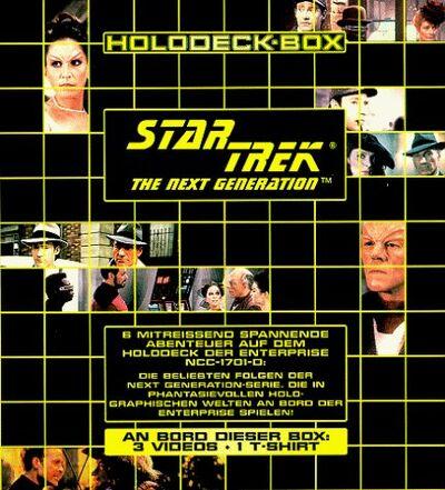 Holodeck Box VHS