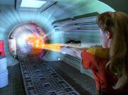 Janeway verschließt Subraumspalte