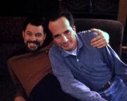 Jonathan Frakes and Brad Yacobian